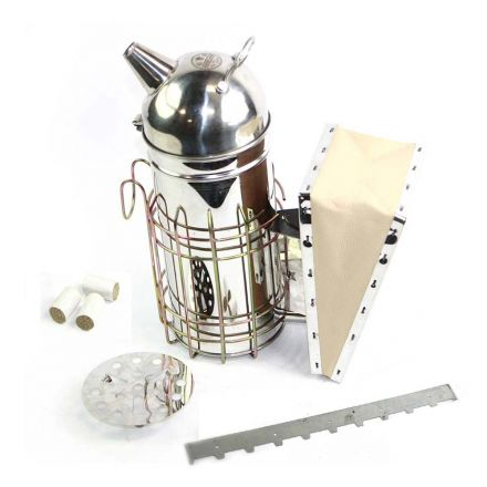 GoodLand Bee Supply GL-TKIT2 Beekeeping Beehive Kit includes Smoker and Spacer