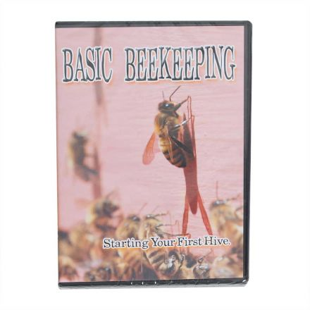 Good Land Bee Supply GLBDVD Basic Beekeeping DIY Learning DVD - Starting Your First Hive