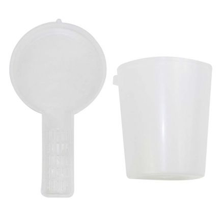 """Good Land Bee Supply GLFDR-106mm Feeder 3-1/4"""" OD 4"""" Deep Round Plastic"""