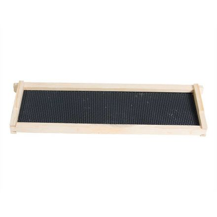 Good Land Bee Supply GLFRMS-FDTNS Beekeeping Beehive Body Super Foundation Deep Wood Frame with Natural Wax Foundation Sheet