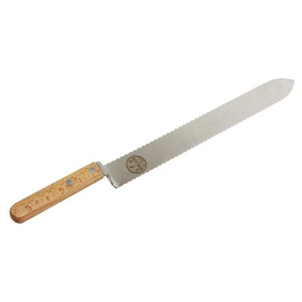 "Good Land Bee Supply GLUK-SER Uncapping Knife Serrated 16"" OAL, 11"" x 1-3/8"" Blade"