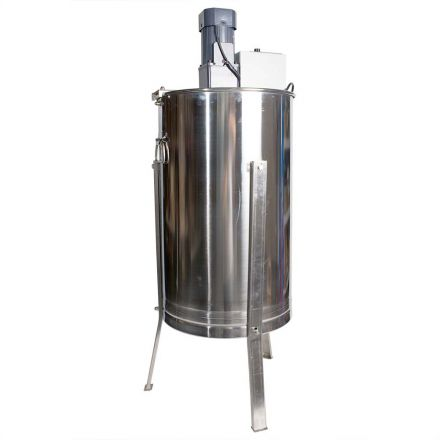 Good Land Bee Supply HE3MOT 3 Frame Beekeeping 304 Stainless Steel Drum Honey Motorized Extractor With Stand - Electric 110V