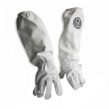 Good Land Bee Supply GL-GLV-M Sheep Skin Glove with Canvas Sleeve - Medium